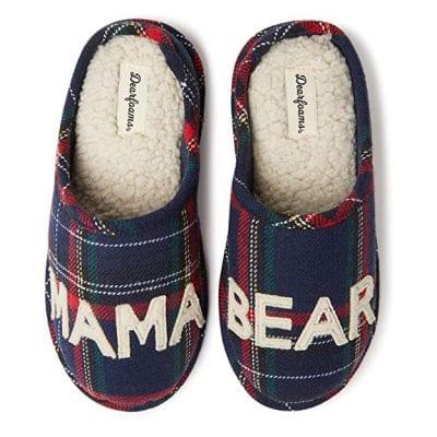 Dearfoams Women's Mama Bear Slippers