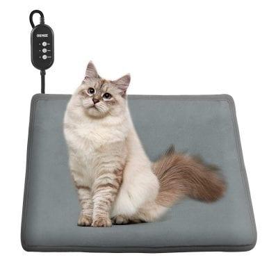 OKMEE Adjustable Warming Pet Heating Pad
