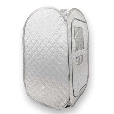 Smartmak Portable Sauna Tent for Detox Therapy and Weight Loss- Grey