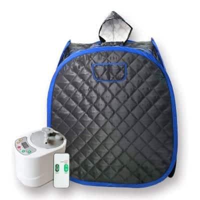Smartmak Portable Full Body Sauna Kit Spa Hat Tent with Remote Control