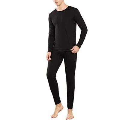 YIMANIE Ultra-Soft Men's Thermal Underwear Set