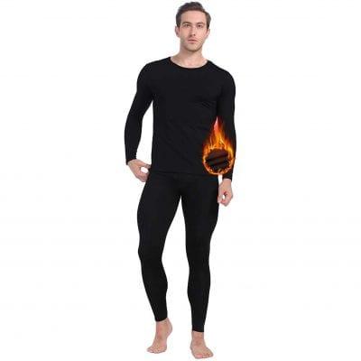 MANCYFIT Ultra-Soft Men's Thermal Underwear Set