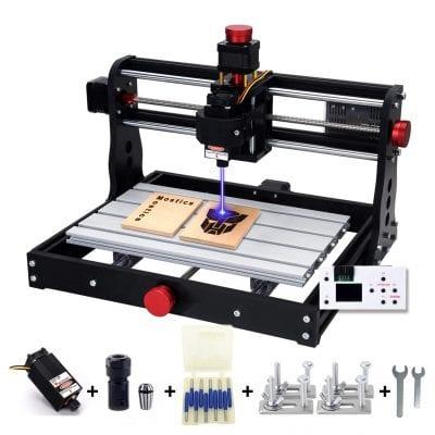 Mostics CNC 3018 5.5W Laser Cutter Engraver Machine