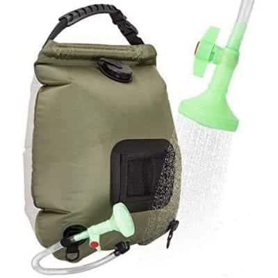 VIGLT Portable 5 gallons/20L Shower Bag for Camping Summer Shower