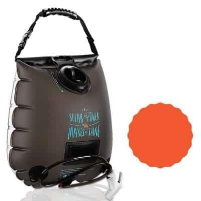 Outdoor Hygiene 5 Gallon Shower Bag Solar Shower for Outdoor Traveling