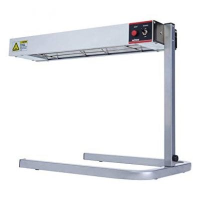 Winco Electric Countertop Strip Heater with Stand