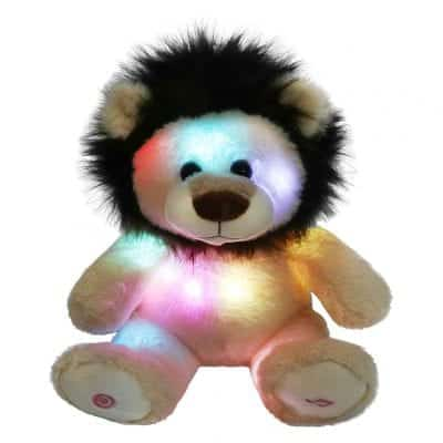 Glow Guard 10 Inches Light Up Wildlife Animal Teddy Bear