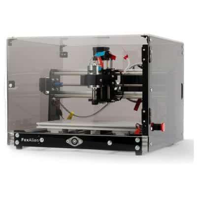 FoxAlien Desktop CNC Router Machine 3 Axis Milling Machine