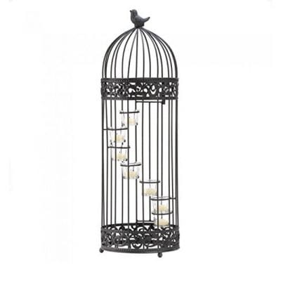 Candles Staircase Decorative Birdcage