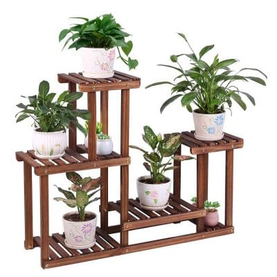 COOGOU Wooden Plant Stand