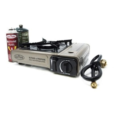 Gas ONE Dual Stove GS-3400P