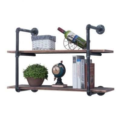 GWH 36-Inch Wall Mounted Industrial Shelving