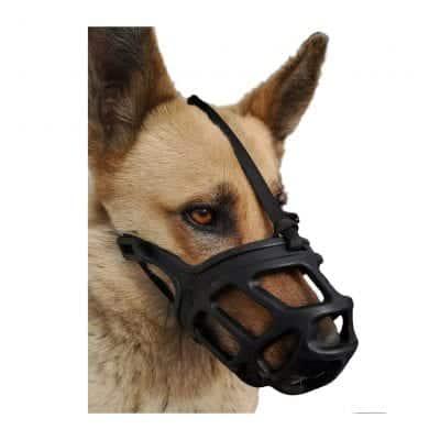 Dog Muzzle, Breathable Muzzle