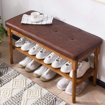 OGCAU Wooden Shoe Rack