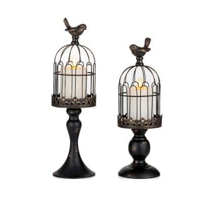 Sziqiqi Vintage Decorative Bird Cag
