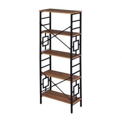 Homissue Industrial Open Bookshelf