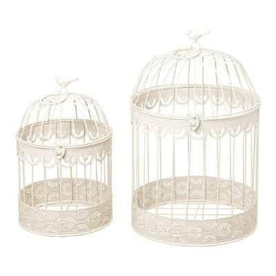 Whole House Worlds Decorative Bird Cage