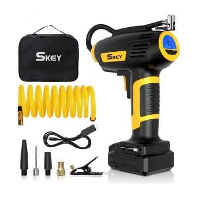 SKEY Handheld Electric Air Compressor Tire Inflator