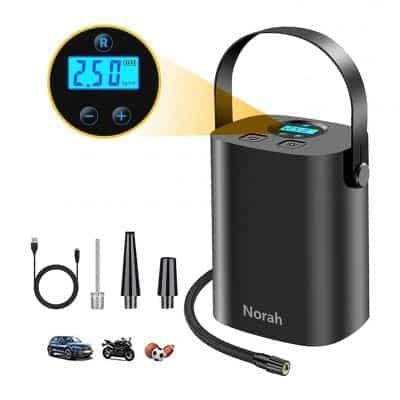Breezz Cordless Tire Inflator Portable Air Pump