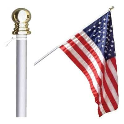 Grace Alley Flag Pole