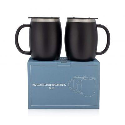 Stainless Steel Coffee Mugs